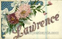 LLN001038 - Lawrence Large Letter Name, Names, Postcard Postcards