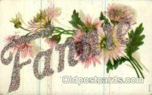 LLN001042 - Fannie Large Letter Name, Names, Postcard Postcards
