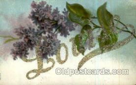 LLN001058 - Louise Large Letter Name, Names, Postcard Postcards