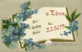 LLN001061 - Edna Large Letter Name, Names, Postcard Postcards