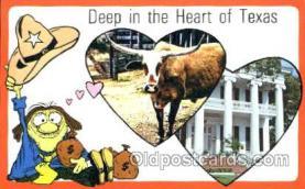 LLS001078 - Texas Large Letter State Postcard Postcards