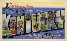LLS001145 - Kentucky Large Letter State States Post Cards Postcards