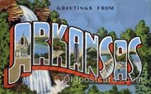 LLS001149 - Arkansas Large Letter State States Post Cards Postcards