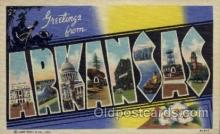 LLS001156 - Arkansas Large Letter State States Post Cards Postcards