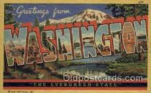 LLS001163 - Washington Large Letter State States Post Cards Postcards