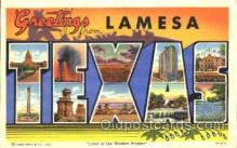 LLS001258 - Texas, USA Large Leter State Postcard Postcards