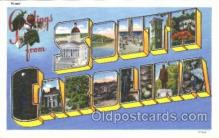 LLS001363 - South Carolina, USA Large Letter State States Postcard Postcards