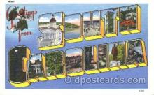 LLS001365 - South Carolina, USA Large Letter State States Postcard Postcards