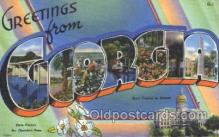 LLS001367 - Georgia, USA Large Letter State States Postcard Postcards
