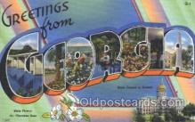 LLS001373 - Georgia, USA Large Letter State States Postcard Postcards