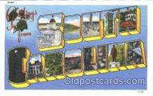 LLS001375 - South Carolina, USA Large Letter State States Postcard Postcards