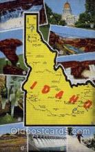 LLS001421 - Idaho Large Letter State States Post Cards Postcards