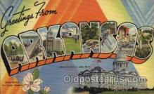 LLS001454 - Arkansas Large Letter State States Post Cards Postcards
