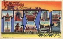 LLS001507 - Texas Large Letter State States Post Cards Postcards