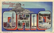 LLS001561 - Ohio Large Letter State States Post Cards Postcards