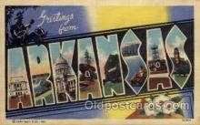 LLS001621 - Arkansas Large Letter State States Post Cards Postcards