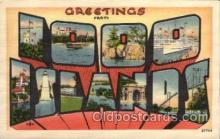 LLS001639 - 1000 Islands Large Letter State States Post Cards Postcards