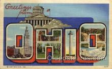 LLS001663 - Ohio Large Letter State States Post Cards Postcards
