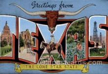 LLS001682 - Texas Large Letter State States Post Cards Postcards