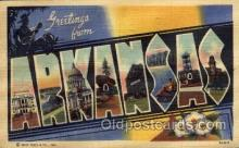 LLS001693 - Arkansas Large Letter State States Post Cards Postcards