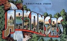 LLS001704 - Arkansas Large Letter State States Post Cards Postcards