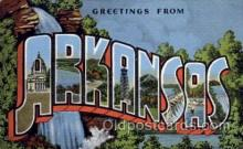 LLS001705 - Arkansas Large Letter State States Post Cards Postcards