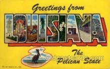 LLS001708 - Louisiana Large Letter State States Post Cards Postcards