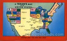 LLS001728 - Texas Large Letter State States Post Cards Postcards