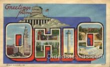 LLS001780 - Ohio Large Letter State States Post Cards Postcards