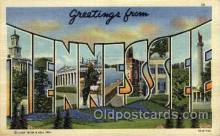 LLS001845 - Tennessee, USA Large Letter States Postcard Postcards