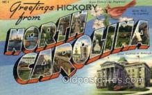 LLS001859 - North Carolina, USA Large Letter States Postcard Postcards