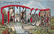 LLS100004 - Tennessee, USA Postcard Post Cards