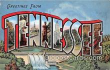 LLS100006 - Tennessee, USA Postcard Post Cards