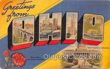 LLS100007 - Ohio, USA Postcard Post Cards