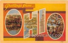 LLS100008 - Ohio, USA Postcard Post Cards