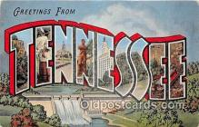 LLS100009 - Tennessee, USA Postcard Post Cards