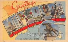 LLS100014 - Missouri, USA Postcard Post Cards
