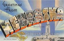 LLS100015 - Nebraska, USA Postcard Post Cards