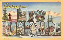 LLS100016 - New Hampshire, USA Postcard Post Cards