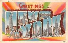 LLS100018 - New York, USA Postcard Post Cards