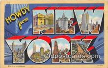 LLS100019 - New York, USA Postcard Post Cards