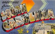 LLS100020 - South Carolina, USA Postcard Post Cards