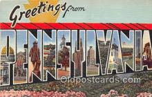 LLS100025 - Pennsylvania, USA Postcard Post Cards