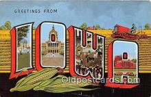 LLS100026 - Iowa, USA Postcard Post Cards