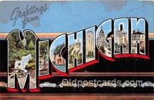 LLS100027 - Michigan, USA Postcard Post Cards