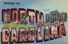 LLS100034 - North Carolina, USA Postcard Post Cards