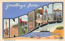 LLS100036 - Indiana, USA Postcard Post Cards