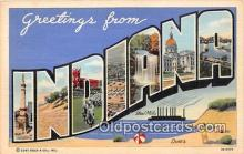 LLS100037 - Indiana, USA Postcard Post Cards