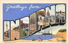 LLS100040 - Indiana, USA Postcard Post Cards