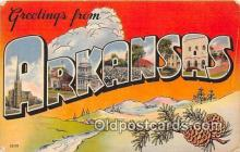 LLS100043 - Arkansas, USA Postcard Post Cards